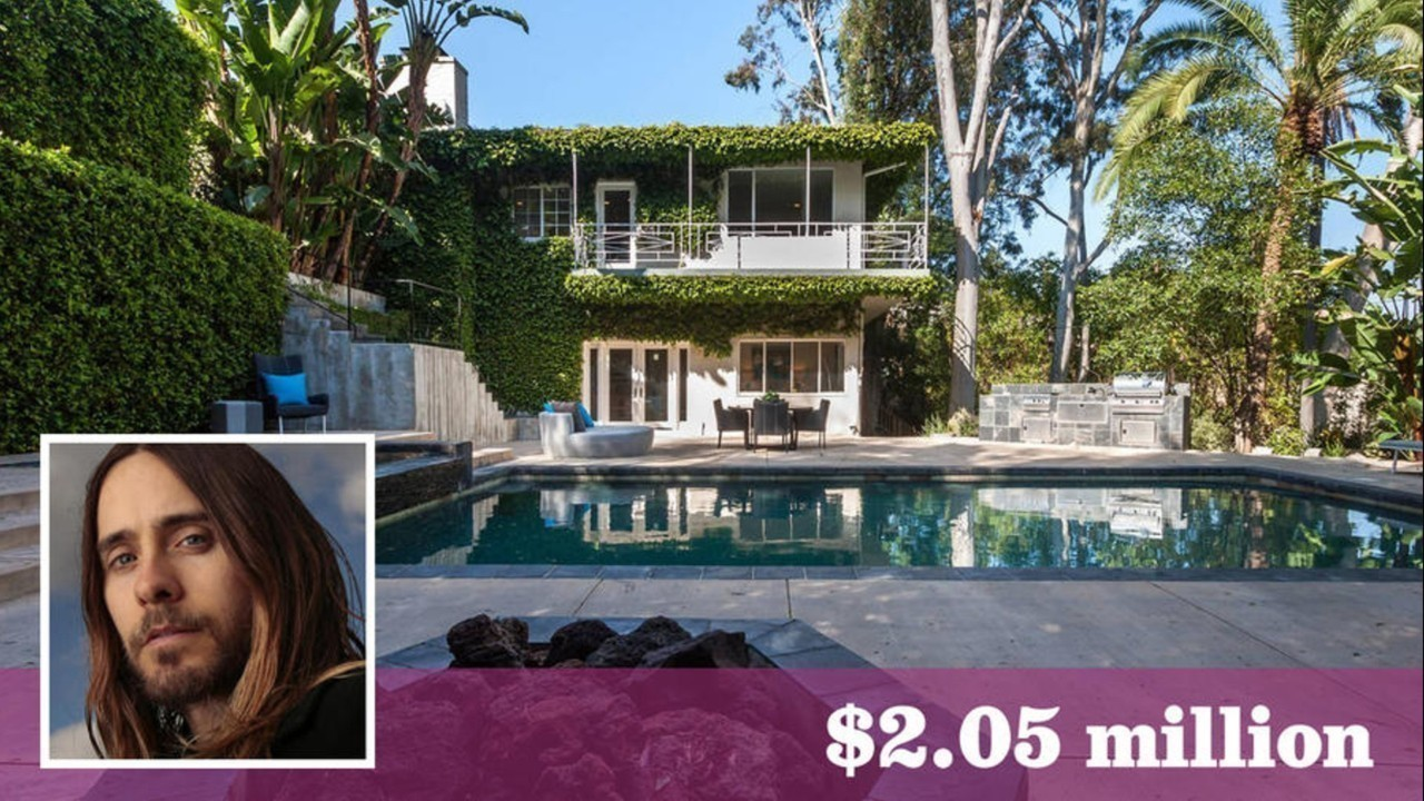 Jared Leto gets his price and more for Cahuenga Pass pad