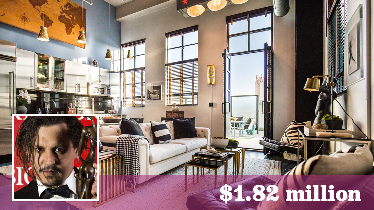 'Pirates of the Caribbean' star Johnny Depp continues his real estate purge